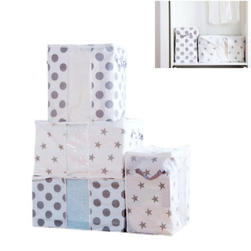 Non Woven Cloth Coat Storage Bag Clothes Big Bag Quilts Bag Finishing Bag Quilt Moisture Storage Bag