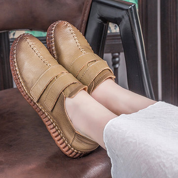 SOCOFY Genuine Leather Casual Comfy Loafers
