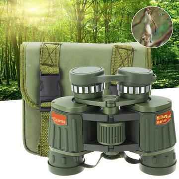 8X42 HD Tactical Army Marine Binocular Low Light Night Vision Bird Watching Telescope