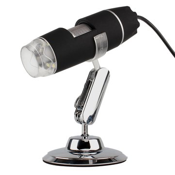 S1 USB 8 LED 1X-500X Digital Microscope Endoscope Magnifier Video Camera Real 0.3MP/1.3MP/2MP