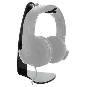 Cuffie desktop nero basamento del gancio Gaming Headset di esposizione del supporto della cremagliera Staffa