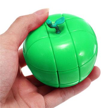 NoëlTroisièmeordrerougevertApple Style Strange-forme Casse-tête Magic Cubes pour les enfants cadeau