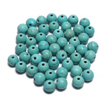 6mm 50Pcs Multicolor Turquoise Round Spacer Beads DIY Jewelry Accessories