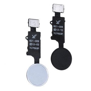 Original Botón de retorno al hogar universal ID táctil Regreso al hogar Tecla de huella digital Reparación de cable flexible herramienta para iphone 7 7P 8 8P
