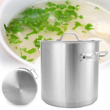 두꺼운스테인레스스틸주식냄비유도 주방 수프 조리기구 35 / 40 / 45 / 50cm 주방 냄비