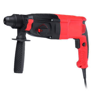 220V 1280W 3 Function Electric Hammer Drill Power Hammer Breaker Impact Drillng Tool 26MM
