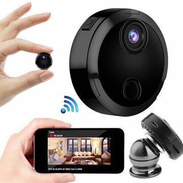 Mini HD 1080P Caméra de sécurité sans fil WiFi IP Vision nocturne Caméscope domestique Contrôle APP