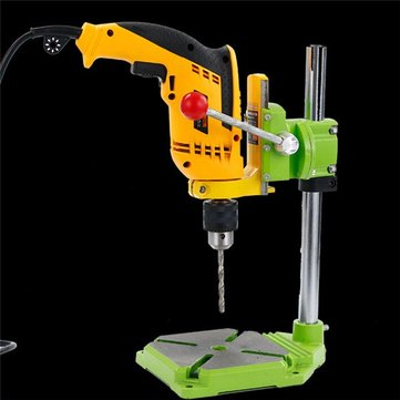 MINIQ BG6117 Bench Drill Stand/Press Mini Electric Drill Carrier Bracket 90° Rotating Fixed Frame
