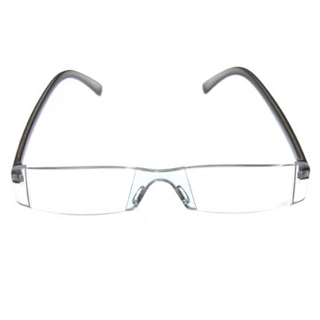 Portable One Piece Rimelss Reading Glasses Eyewear Fatigue Relieve Strength 1 1.5 2 2.5 3 3.5
