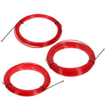 10-30M Nylon Bande de traçage de poisson Extracteur de câble électrique Roue d'électricien tirant