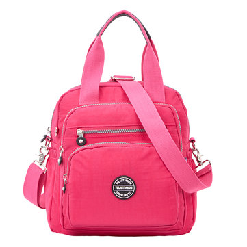 Women Nylon Multifunctional Waterproof Capacity Backpack Cro