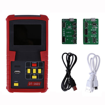 Multifunction Battery Data Tester For iPhone X 8 8P 7 7P 6 6P 6S 6SP 5 5S 4S Battery Efficiency Checker Clear Cycle