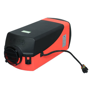 12V 5000W Car Parking Diesel Air Heater Small Digital Switch with Universal Free Muffler