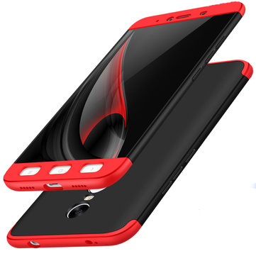 Bakeey™ 3 in 1 Double Dip 360° Full Protection Hard PC Case For Xiaomi Redmi Note 4X/Redmi Note4Global Edition