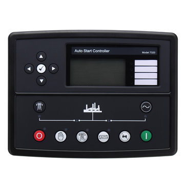 Original Deep Sea DSE7320 Electronic Generator Controller Module Panel Black