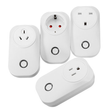 16A Wifi Wireless Smart Plug Power Socket Timer Switch For ECHO ALEXA GOOGLE