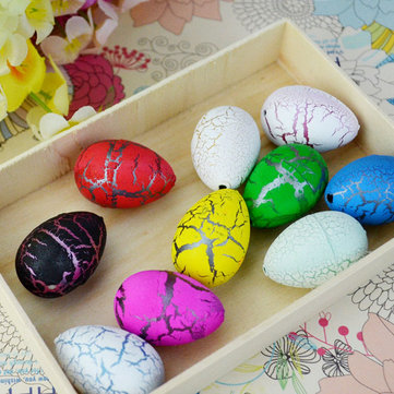 1PC Large Funny Magic Growing Hatching Dinosaur Eggs Christmas Child Toy Gifts