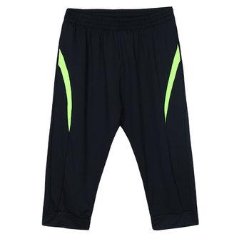 Mens exercício ginásio de esportes shorts casuais calças cortadas
