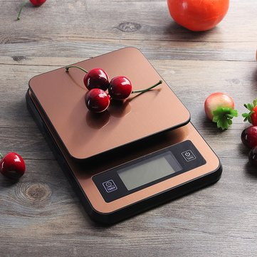 2kg/0.1g LCD Display Digital Stainless Steel Electronic Kitchen Scale w/ USB Power NEW High Precision