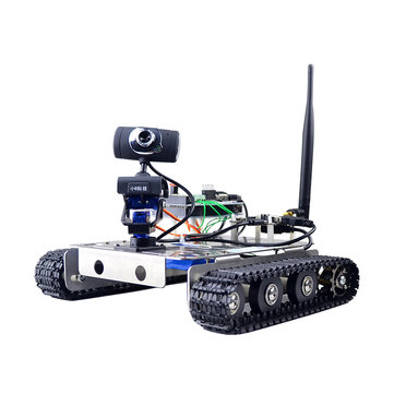 Xiao R DIY Smart Robot GFS FPGA Wifi Video Control Tank with Camera Gimbal Compatible with Arduino