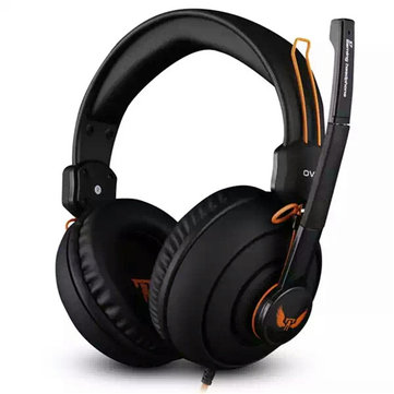 OVANN X7 3.5mm Stereo Headset with Microphone Volume Control for PC GAMING