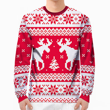Men Christmas Hoodies Sweatshirts