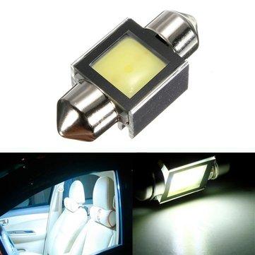 2W COB 31MM SMD LED 6000K White Map Dome car TRUNK Interior Festoon Light Bulb