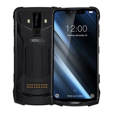 DOOGEE S90 Helio P60 2.0GHz 8コア BLACK(ブラック)