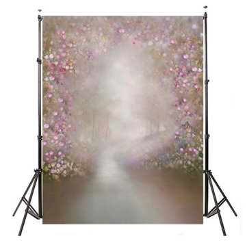 Pink Flower Light Photo Photography Background Backdrop