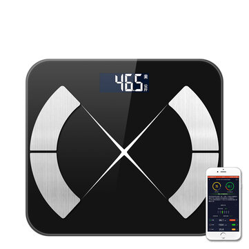 Original KCASA Body Fat Smart Escala Digital BMI Body Escala