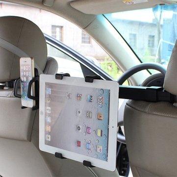 Universal 2 in 1 Supporto per PC del ridurre in pani del telefono dell'automobile per il resto della testa del sedile posteriore per il iPhone iPad Samsung