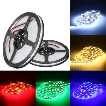 DC12V 5M SMD5054 Green Blue Red Warm White Pure White Waterproof LED Strip Light for Decor