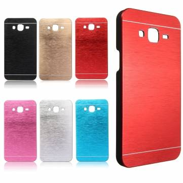 Luxury Ultra Slim Brushed Aluminum Metal Case Back Cover For Samsung Galaxy J5