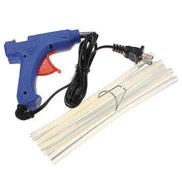 20W 100-240V Electric Heating Machine Hot Melt Glue Gun Hot Glue Gun kits With 10 Glue Sticks