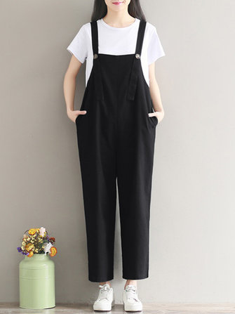 Gracila Strap Romper Trousers Overalls Playsuit