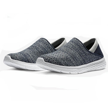 XIAOMI Uleemark Men Slip-on Ultralight Shock-absorbing Sneakers Hiking Shoes Running Shoes