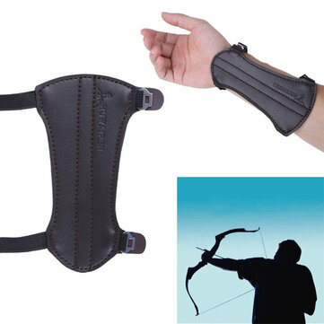 Archery Arm Guards Bow Protective Sleeve With 2 Adjustable Elastic straps For Hunting Shooting