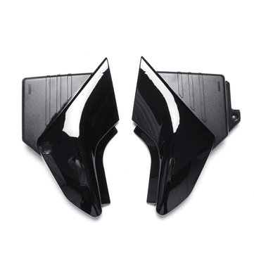 Pair Motorcycle Black Side Panel Battery Cover For Yamaha YBR 125 2005-2009