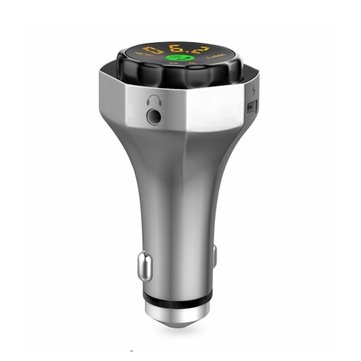 SIMR AP06 Car Charger MP3 Player V4.2 Bluetooth Handsfree Dual USB Support TF U-disk FM Transmitter