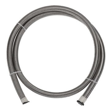 Teflon Stainless Braided Hose Tube Pipe Line Black for Petrol Oil Di Fuel Oil Line 1M