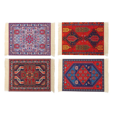 28cm x 18cm Bohemia Style Persian Rug Mouse Pad Multiple Pattern Mouse Mat For Desktop PC Laptop