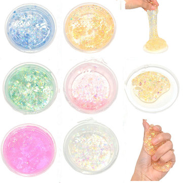 Intelligent Creative Galaxy Slime 60g Silly Putty Fimo Plasticine Mud DIY Toy Kids Gift