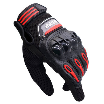 WUPP CS-640A Motorcycle Full Finger Protective Gloves Touch Screen Waterproof