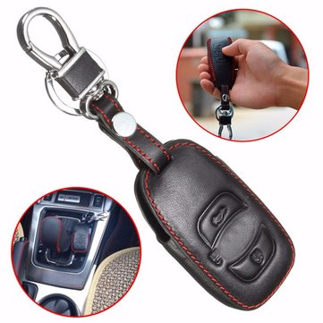 Leather Car Case Cover Holder for Subaru Forester Legacy Outback Remote Smart Key XV