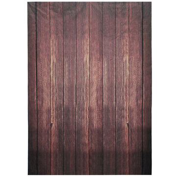 5x7FT 1.5x2.1m Wood Grain Thin Photography Background Studio Photo Props Backdrop