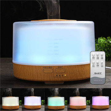 Ultrasonic Oil Essential Diffuser Humidifier LED Night Light Air Aromatherapy Purifier AC110-240V