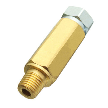 Pressure Washer Jet Hose Brass In-line Water Coupling Adapter For Turbo Nozzles