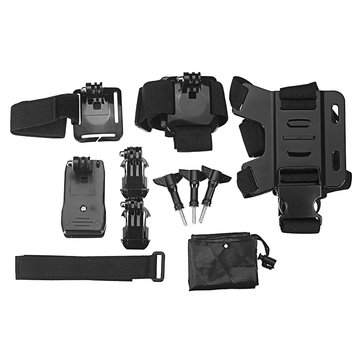 Xiaomi Mijia Mini Sports Camera Outdoor Wearing Set w/ Chest Strap/Waterproof Shell/Backpack Clip