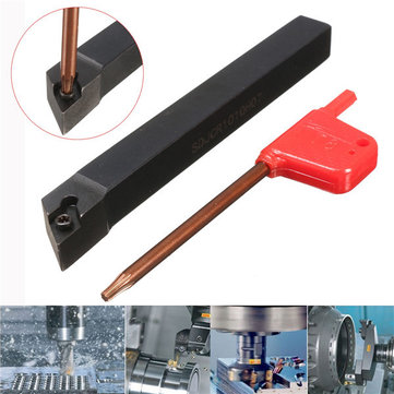 SDJCR1010H07 10x100mm Lathe Boring Bar Turning Tool Holder For DCMT0702 Insert