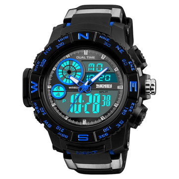 SKMEI 1332 Chronograph Outdoor Dual Display Digital Watch